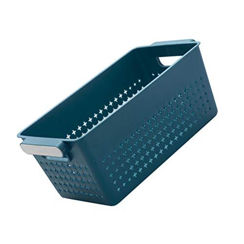 Cabilock Canasta de Baño de Silicona Cestas de Plástico de Punto Misceláneas Portátiles Organizador de Almacenamiento para El Hogar Baño Cocina Almacenamiento de Artículos Domésticos