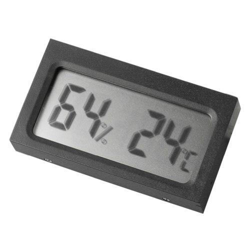 RHX LCD Digital Thermomètre hygromètre Température Humidité Mètre en voiture en extérieur NEUF