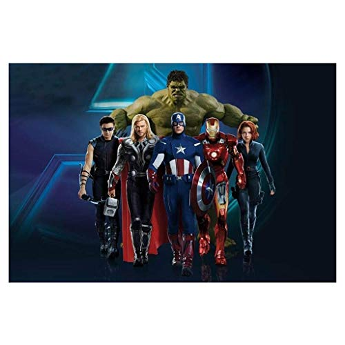 CXF Avengers Puzzle di Legno 300/1000 Pezzi Boxed, Infinity War Film Stills Fotografia Pittura Poster Giocattoli Game Art, for Adulti Bambini dei Ragazzi del Regalo (Colore : A, Taglia : 1000pc)