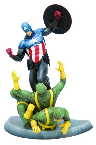 Marvel Collection: Captain America Fine Art Statue image