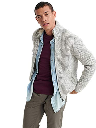 Superdry M6100011A Strickjacke Man Grau M