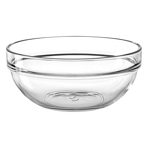 Montana :trend schaal 17, set van 6, diameter 17cm, 1,055l, geschikt voor magnetron, helder glas, 046903