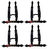 ProGuard Black 4 Point Harness 2' Straps for Off Road Vehicle, ATV, UTV, Go Kart, Buggy, Side by...
