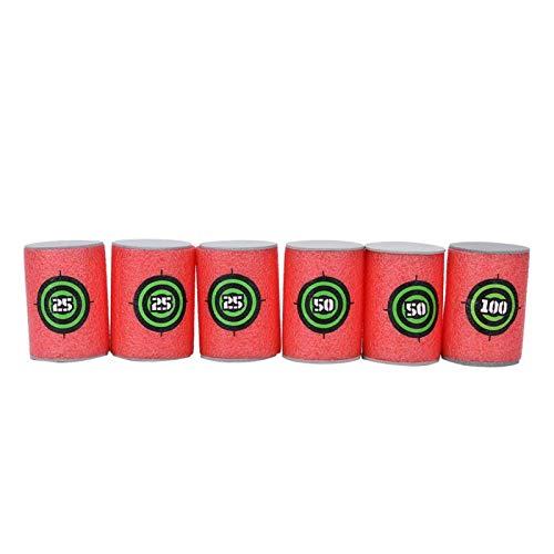 DAUERHAFT Caja Fuerte para Disparar, para Objetivo Eva de Espuma Suave(Bullet Target)