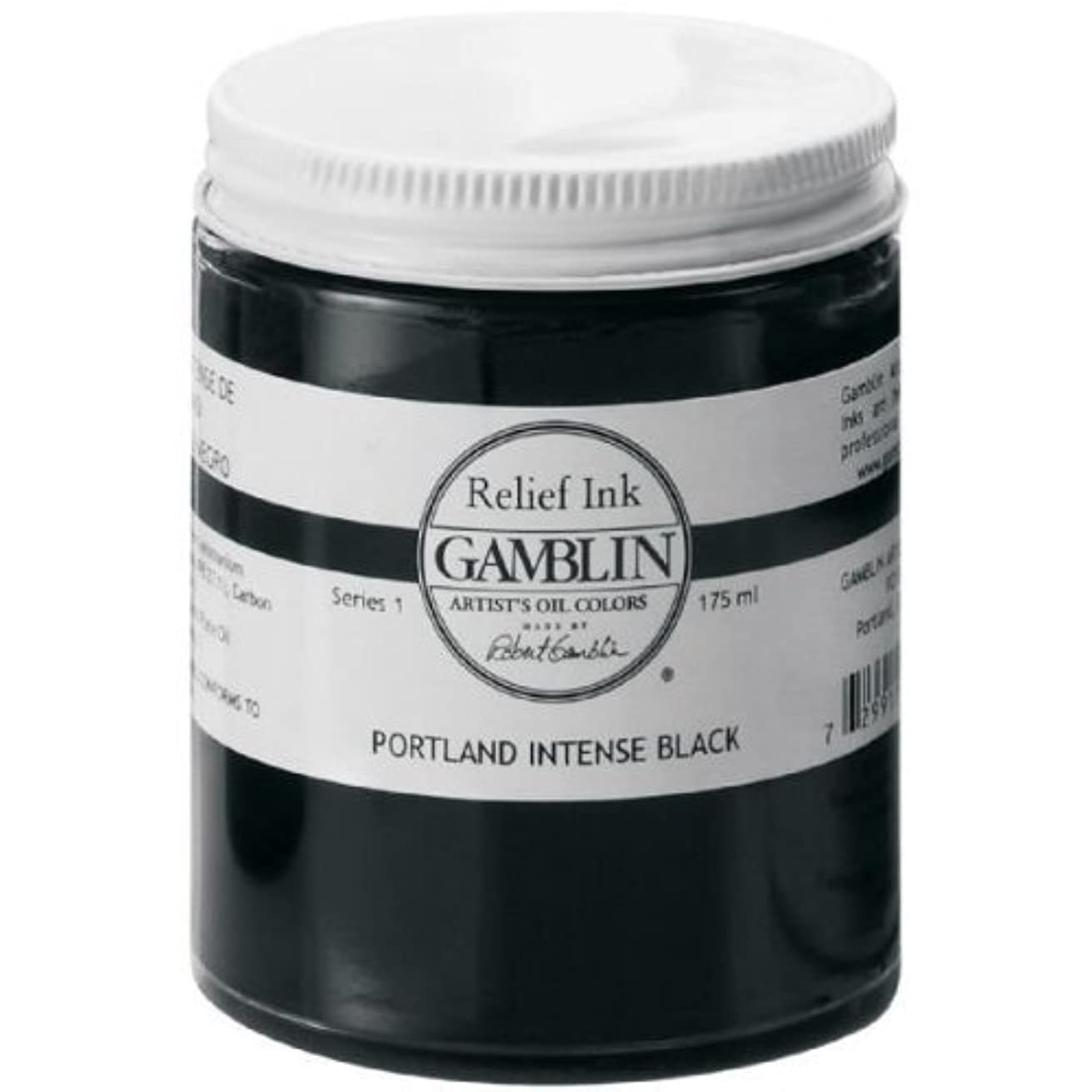 Relief Ink Color: Portland Intense Black