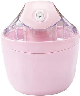 ZJZ Machine à crème glacée à la Maison, Machine à crème glacée électrique pour Enfants Bricolage Mini Machine portative de...