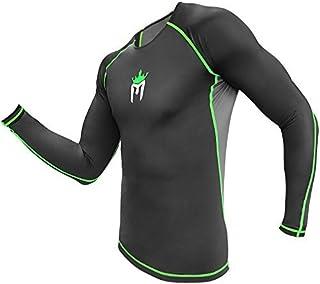 Meister Rush Premium Long Sleeve Rash Guard for MMA, BJJ & Diving