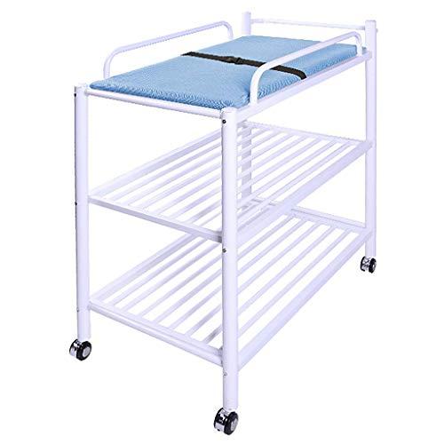 HNBC Comfortabele babycomfortabel, windstation kinderdag-organizer babybadtafel met kussen touch massage behandelingstafel tot 50 kg