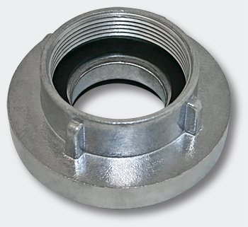 Wiltec C Storz-Kupplung Festkupplung C 52mm mit Innengewinde 2 Zoll 59,25 mm Alu Schlauch Festkupplung