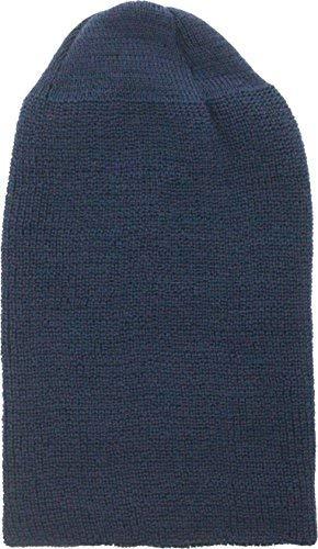 Military Genuine GI Winter USN Warm Wool Hat Watch Cap (Navy Blue)