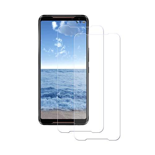 LPCJ [2Piezas, ASUS ROG Phone II Protector de Pantalla, Cristal Templado Vidrio Templado Película para ASUS ROG Phone II