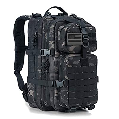 REEBOW GEAR Military Tactical Backpack Small Assault Pack Army Molle Bag Backpacks