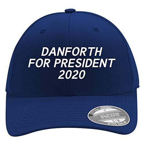 Danforth for President 2020 - Men's Flexfit Baseball Cap Hat, Blue, Small/Medium