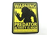 Predator Activity is High PVC Paintball Airsoft Parche