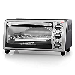 BLACK+DECKER TO1313SBD 4-Slice Toaster Oven - Best Toaster Oven
