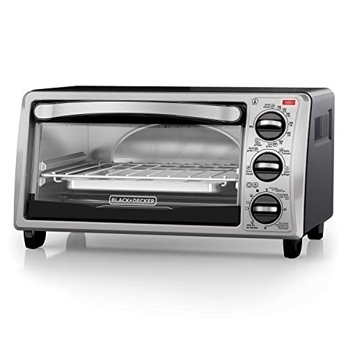 Black+Decker TO1313SBD Toaster Oven, 16.4 Inch