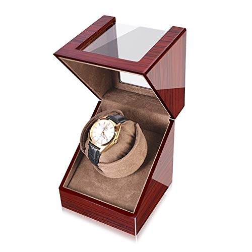 Xin Watch Winder, Tiene Capacidad For 1 Reloj, Ultra Silencioso Motor Anti-magnético, con Suave Y Flexible Tabla Almohada, Tamaño 159 * 128 * 128mm Xin