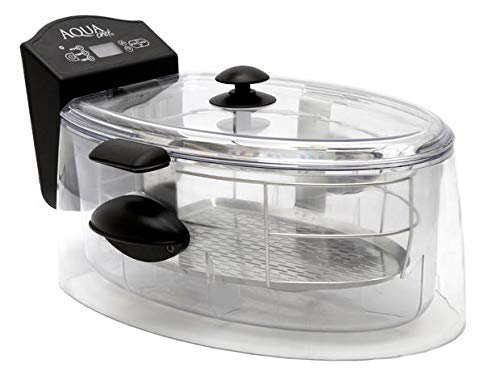 Sous Vide Cooker water oven by AquaChef,Capacity 8L, 120V-60Hz-1200W, Clarity, Digital LED+ Fresh Vacuum Sealer
