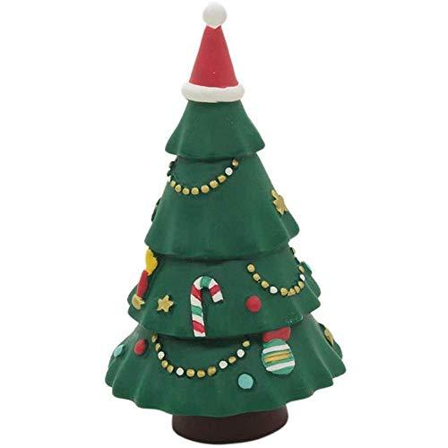 Árbol de Navidad SKTY miniatura ornamento de navidad for el bricolaje Hada del jardín decoración del Dollhouse Mini paisaje de la decoración de escritorio árbol de Navidad Mini Home Adornos (Color: C)