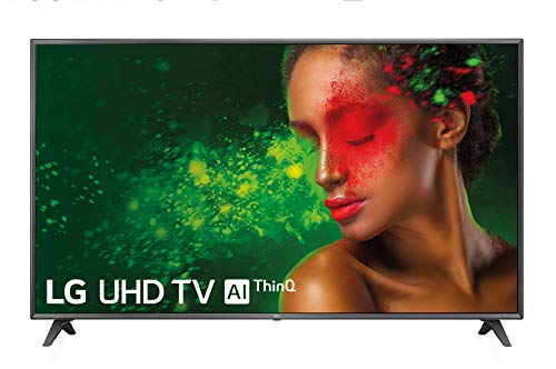 "LG 75UM7110PLB - Smart TV UHD 4K de 189 cm (75"") con Alexa Integrada (Procesador Quad Core, HDR y Sonido Ultra Surround) Color Negro"
