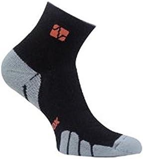 Vitalsox Tennis Classic Drystat Arch Compression Quarter Socks, Black, Small VT0910T