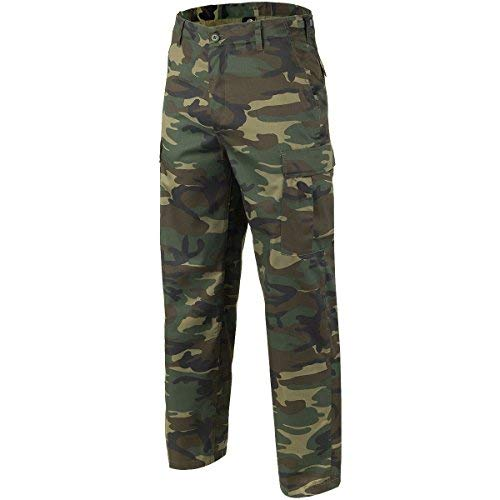 Brandit US Rangerhose Pantaloni Eleganti da Uomo, Woodland, M