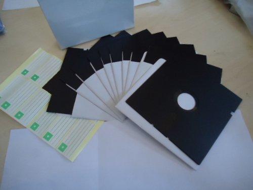 "New 10 High Density 5.25"" Floppy Disks - TEN 5 1/4"" Disc Diskettes Blank Hd Vintage"