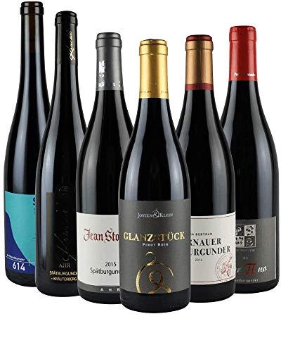 RHEIN AHR WEIN Top-Spätburgunder Weinpaket (6x 0,75l), Prämierte Spätburgunder von MIttelrhein- und Ahr.