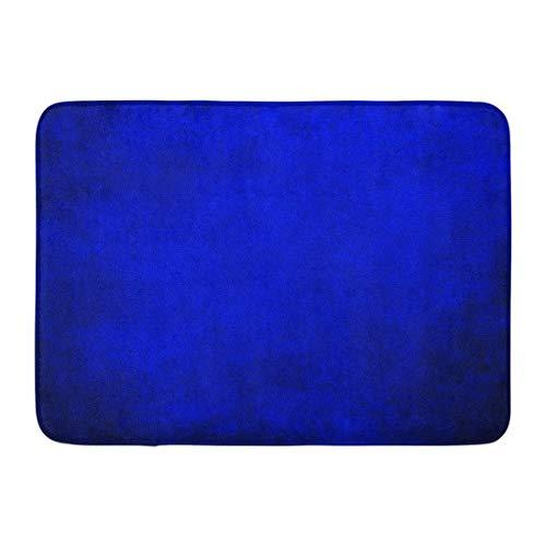 Fußmatten Bad Teppiche Outdoor/Indoor Fußmatte Lila Lebendige Königsblau Schwarz Grenze Kühle Farbe Vintage Abstrakte Farbverlauf Wandfarbe Helle Badezimmer Dekor Teppich Badematte