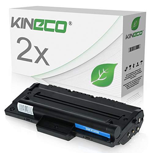2 Toner kompatibel zu Samsung MLT-D1092S SCX-4300 4610 - Schwarz je 2.000 Seiten