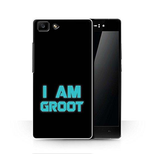 Hülle Für Oppo R5 Comic Wächter Inspiriert Retro I Am Groot Design Transparent Ultra Dünn Klar Hart Schutz Handyhülle Hülle