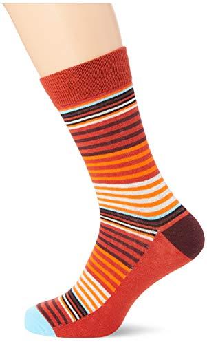 JACK und JONES Herren JACSTRIPY NOOS Socken, Navy Blazer/Detail:Multi Colors, ONE SIZE