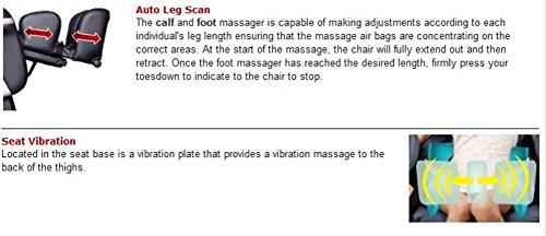 Osaki OS4000TB Model OS-4000T Zero Gravity Massage Chair, Brown, Computer Body Scan, Zero Gravity...