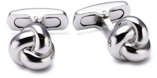 Morellato SRG02 - Gemelli da uomo, acciaio inossidabile