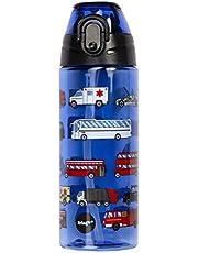 Fringoo Kids waterfles met stro 100% lekvrij BPA GRATIS 600ml fles voor schoolkwekerij   Reisfles voor kinderen   Sport waterfles