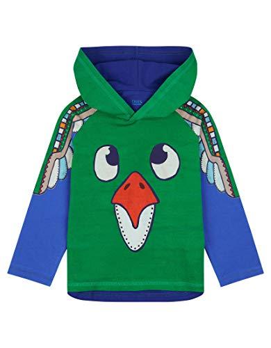 Oilily Grünes Langarmshirt für Jungen YF18BJE501