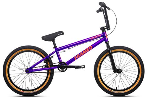 Framed Witness BMX Bike Mens Purple/Orange Sz 20in