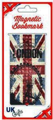 I LUV LTD Magnetic Bookmark London Eye