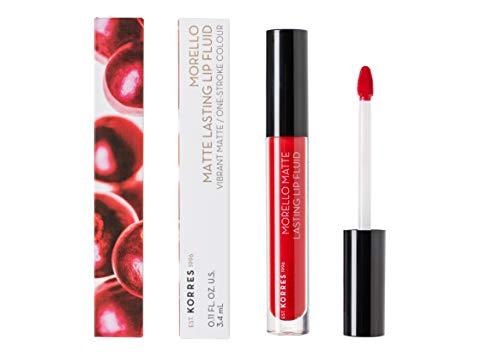 KORRES MORELLO Matte Lasting Lip Fluid - Nr. 53 Red Velvet, 3.4 ml
