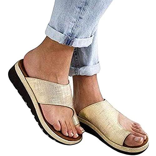 Sandalias De Plataforma Cómodas Para Mujer, Elegantes, De Verano, Cuero De Pu,...