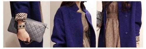 『(レディースファッションミューズ)Ladies Fashion Museレディース長袖エレガントなコート M』の1枚目の画像