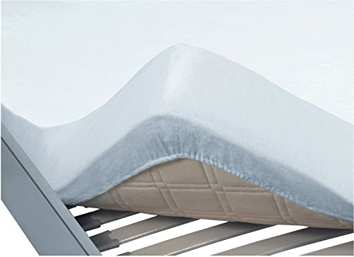 Erwin Müller Hygiene-Spannbettlaken 2er-Pack Molton weiß Größe 90x200 cm