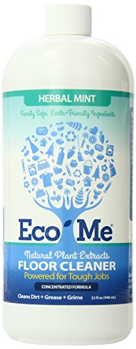 Product Image of the Eco-me Concentrated Muli-Surface and Floor Cleaner, Herbal Mint, 32 Fl Oz