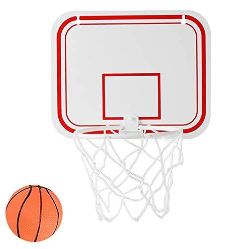 Basketballkorb für Zimmer Basketballkorb Drinnen Kinder Basketballkorb mit Basketball Netz Dekomprimieren Spielzeug Freizeit Sport für Büro Schlafzimmer Badezimmer Toilette Tür Wand Mülleimer 1 Stück