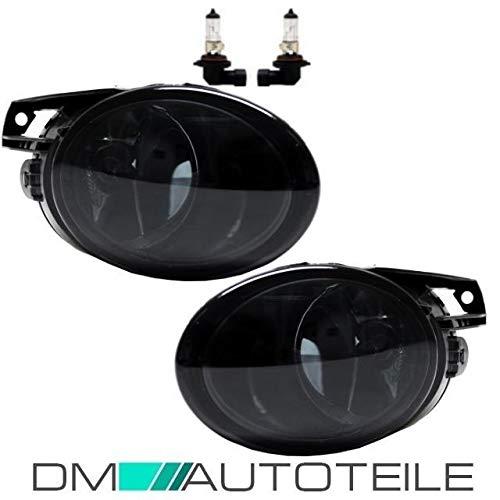 DM Autoteile SET 2x Nebelscheinwerfer Smoke Schwarz LI+RE Passat 3C alle Modelle+H4 Birnen