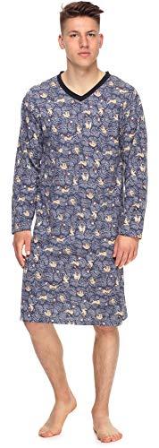 Timone Herren Nachthemd TI30-118 (Faultier, M)