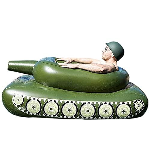 HT&PJ Flotador hinchable para adultos y niños, cómodo juguete para piscina de verano (155 x 112 x 61 cm)