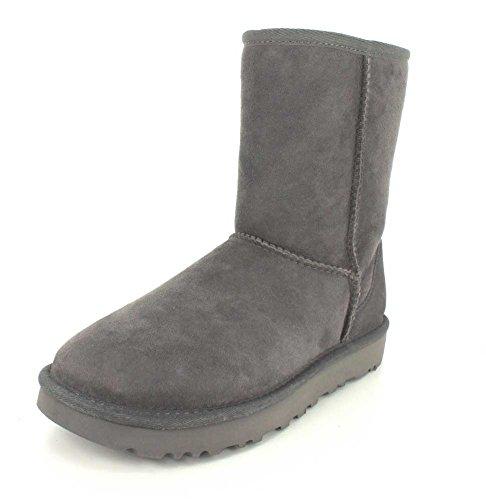 UGG Female Classic Short II Classic Boot, Grey, 7 (UK)