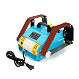 WUPYI2018 950 W Electric Sanding Machine Belt Sander Double Axis Bench Grinder Doppia Ascia Levigatrice a nastro 220 V 6000 rpm