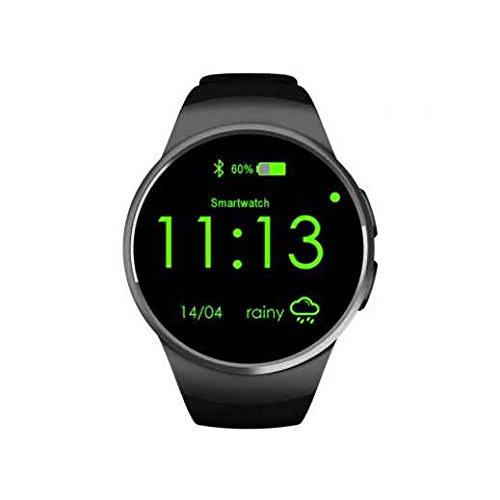 2017 Smart Gesundheit Armbanduhr, wasserdicht Smart Watch Telefon, Unterstützung für Bluetooth 4.0mit Touch-, Telefonieren, Hands-Free Call, SIM Card Slot GSM Sport Armbanduhr